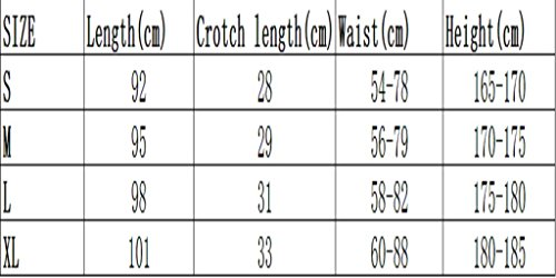 COOLOMG Herren Sporthose Jogginghose Laufhose Trainingshose Sweatpants Lang Schwarz Weiß XL