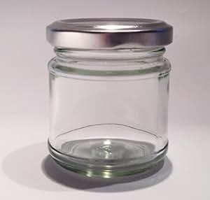 Nutley's Lot de 6 petits bocaux à confiture en verre 100 ml