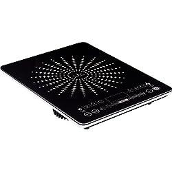Jata Vin145 - Cocina eléctrica de inducción, 2100 W, color negro