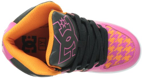 DC DESTROYER HIGH SE ADBS100023A-LKD, Jungen Sneaker Crazy Pink/Black
