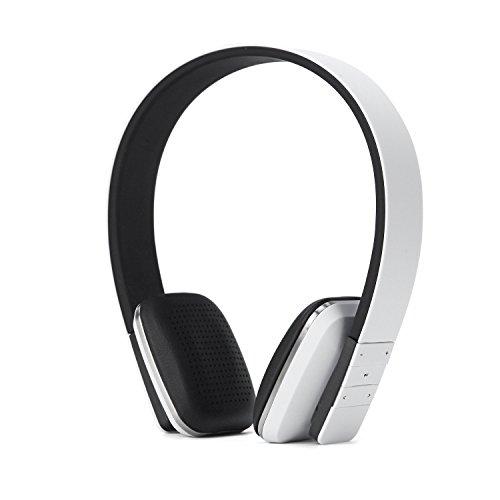 Casque Intra-auriculaire Bluetooth, EONANT Haut-parleur Intra-auriculaire sans Fil Soutien Bluetooth pour TV, iPhone, iPad Périphériques Bluetooth (Blanc)