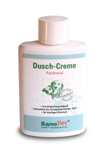 SanoPet® Dusch-Creme Panthenol für Hunde, 200 ml (Tierarzt Creme)