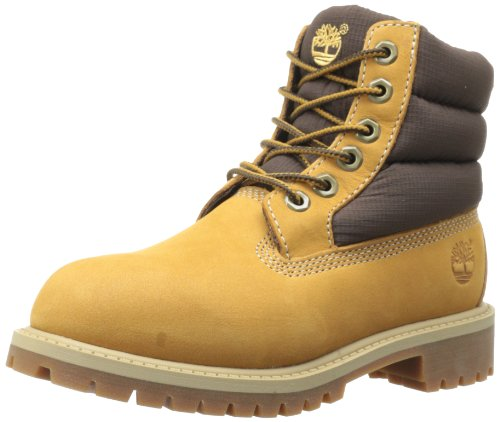 Timberland 6In Quilt Bt Scarpe Walking Baby, Bambino, Giallo (Wheat), 23