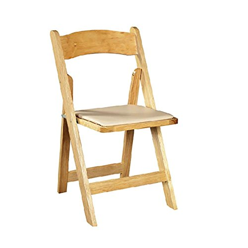 SFZMRYLSY Klappbarer Stuhl aus Holz Massivholz Ergonomie Rückenlehne Stuhl Bürostuhl Essensstuhl...