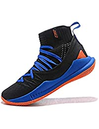 best service 02ad8 91715 UnderArmour UA Curry 5 Black-Blue Men s Basketball Shoes
