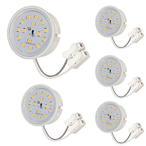 5 Stück SMD LED Modul 230 Volt 5 Watt 400 Lumen 4000 Kelvin Neutralweiß -