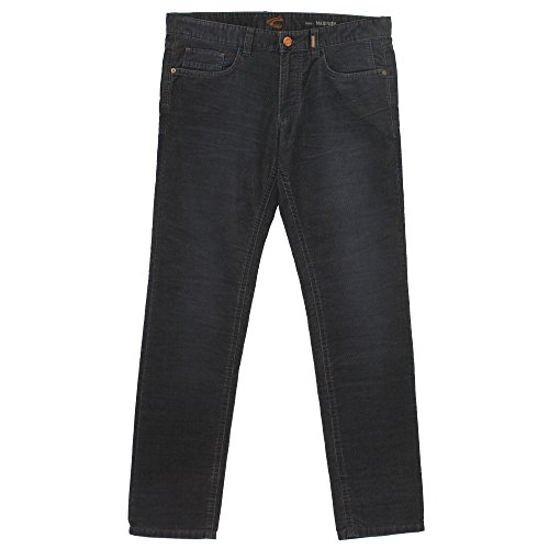 camel active Madison, Herren Jeans Hose, Nadelcord, nachtblau, W 38 L 34 [20632] (Cord Moderne Pants Slim)