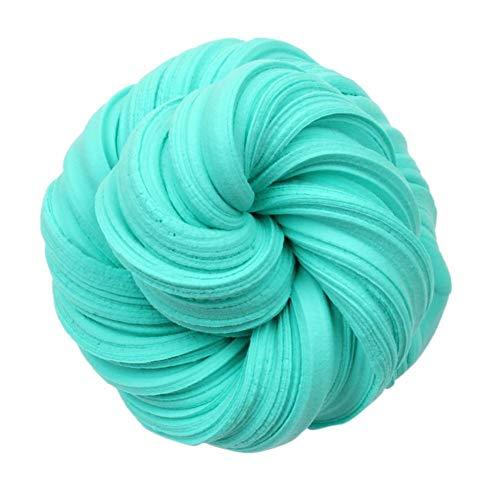 Childplaymate DIY Slime Modeling Clay Fluffy Foam Antistress Kid Cotton Mud Toy (Sea Blue