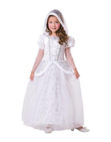 2485452591ee5c Bristol Novelty CF104 Snow Queen, Girls, White, Medium