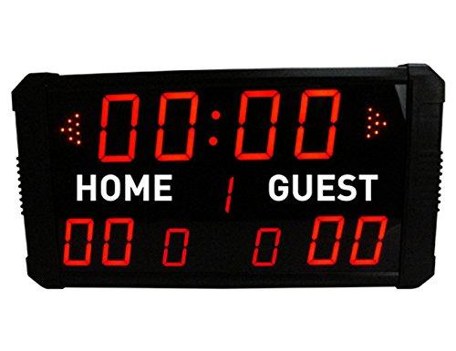 GAN XIN LED-Anzeigetafel, elektronisch, digital, für Basketball, Baseball, Fußball, Multisport, Timer