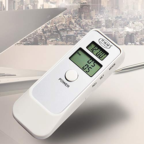 WANGXB Exquisit Probador de Alcohol,Portátil Alcoholimetro,Digital Pantalla LED,Sensor de semiconductores,sin...