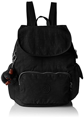 Kipling City Pack S - Zaini Donna, Schwarz, One Size