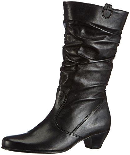 Halbschaft 36 57 Gabor Stiefel 681 Schwarz Damen micro Shoes schwarz zIx5awxrqf