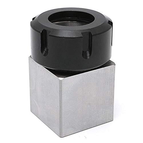 Hard Steel Square ER-32 Collet Chuck Block CNC Lathe Tool Holder - Tool Steel Square