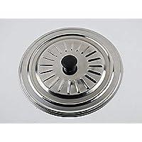 takestop® Tapa Acero Inoxidable 28 cm de diámetro para Sartén Olla Cacerola ollas Cazuela Sobre