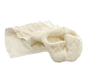 Muslin Bags (Pack of 10) for Straining Filtering Wine Beer Jam Marmalade Home Brew and Boiling Hops