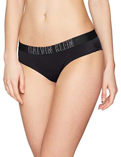 Calvin Klein Damen Bikinihose Hipster-HR, Schwarz (Pvh Black 094), (Herstellergröße: S)