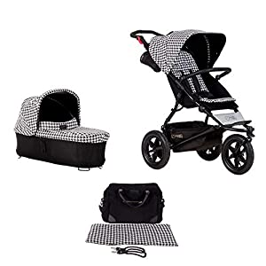 Mountain Buggy Model: Urban Jungle Luxury Collection Pepita Including Changing Bag and Baby seat (carrycot Plus)   11