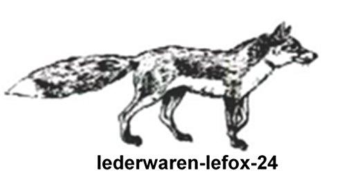 Schreibmappe 2 D647P sw Konferenzmappe PU Synthetik Dermata/lefox