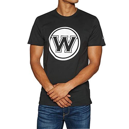 New Era NBA GOLDEN STATE WARRIORS Team Apparel Tee T-Shirt, Größe:L