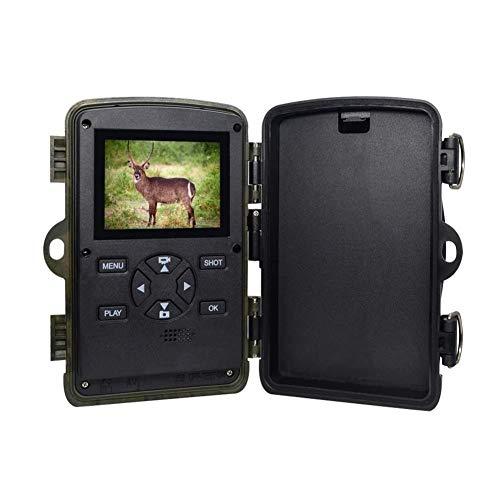 MLMHLMR Wildkamera H885 HD 1080P Nachtsicht Scouting Infrarot wasserdichte Super Fast Trigger Speed   Kamera Jagdkamera -