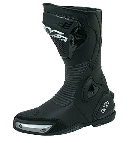 W2 Boots -Stivali da Moto, Nero, 39