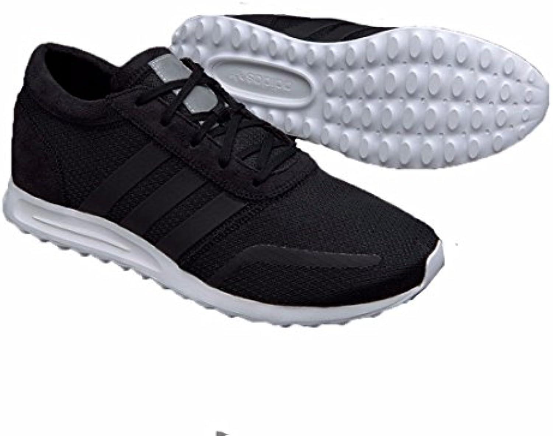 adidas  Los Angeles  Herren Sneaker Schwarz schwarz  weiß 42 2/3 EU
