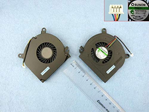 kompatibel für Dell Latitude E6510 Lüfter Kühler Fan Cooler Version 3