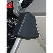 Kuda–Consola de teléfono para Renault Koleos (08/2008de) Mobilia (piel sintética), color negro