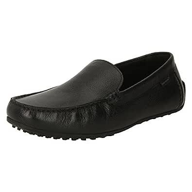 Red Tape Men's Black Loafers - 6 UK/India (40 EU)(RTE0551-6)