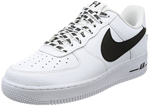 Nike Air Force 1 07 Lv8, Baskets Athletic Homme Blanc (blanc)