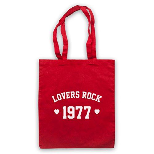 Gli Amanti Del Rock Reggae 1977 Mantengono Le Borse Rosse