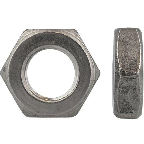 10 Stück Sechskantmuttern M12 niedr. Form DIN 439 Edelstahl A2
