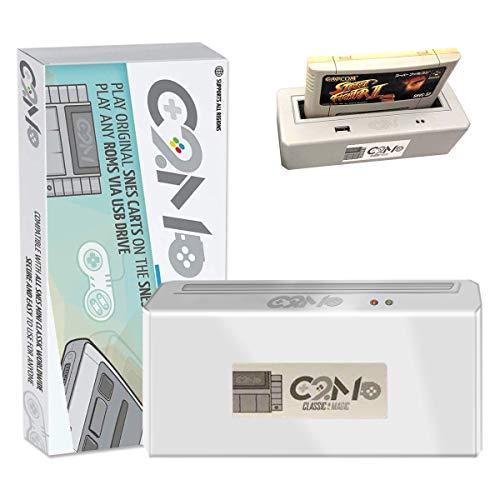 C2M -Classic 2 Magic Adapter for SNES Mini & NES MINI [Play original SNES Cartridges on the SNES MINI retro console],C2M-Classic Original Game Carts on mini Any Roms via USB drive-Official Reseller