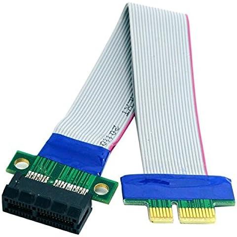 Pci-E 1x cable de extensión PCI-E x pública para la casa para el cableado a la tarjeta de expansión de bus de vuelta al cable flex mayor