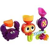 SU Kind Wasserrad Wasserspray Baden Mit Wasser Spielen Spielzeug Schwimmbad Badezimmer Drehen Strand