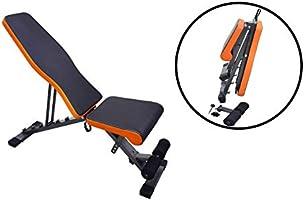 Skyland Unisex Adult Multi-function Adjustable Weight Bench - Black, L 112 x W 33 X H 41 cm