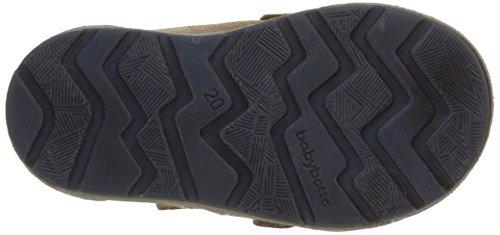 babybotte Jungen Atipik Klettverschluss Sneaker Braun - Marron (126 Camel)