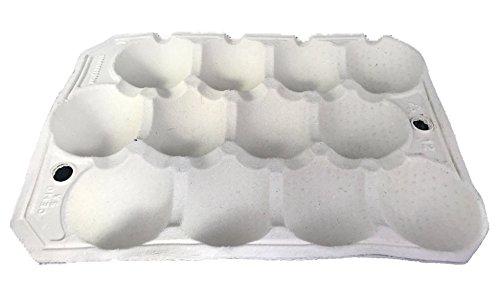 Nutley's 50 X Fibre biodégradable Apple Plateaux à 12