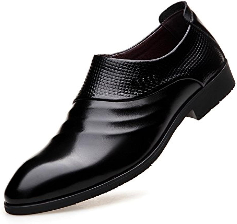 Zapatos Ocasionales de los Hombres Zapatos de Negocios Acentuados -