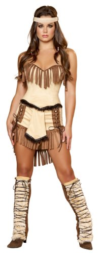Roma Damen Kostüm Mehrfarbig Mehrfarbig Large