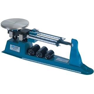 Adam Equipment Aluminium Triple Beam mechanischen Balance, 2.61kg Capacity, 0.1g Readability with Tare Beam, 1