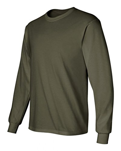 Pirate Booty auf American Apparel Fine Jersey Shirt verde - Military Green