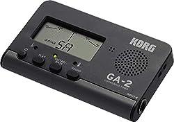 Korg GA-2 Black Guitar Tuner Stimmgerät