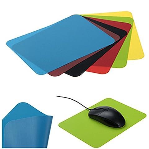 Silicone Slim Gaming confortable tapis de souris Pad 22x15cm