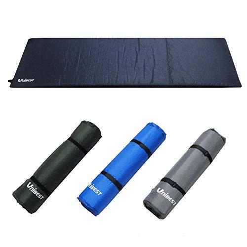 Unibest Selbstaufblasende Luftmatratze Isomatte Luftmatte Einzelperson 202x70x8cm - dunkelblau