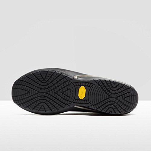 MBT PATA 6S 700825 espadrilles noires chaussures en cuir noir de lacets Noir