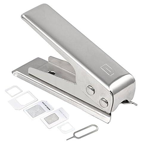 DIGIFLEX Micro Nano und Micro SIM-Kartenstanzer und 2 Adapter für