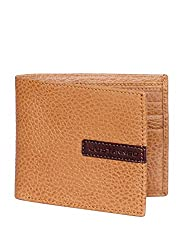 JUSTANNED Tan Mens Wallet (JTMW455-3)