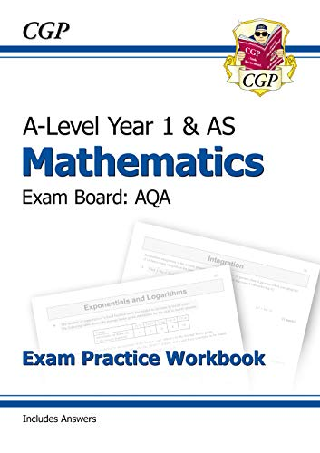 New A-Level Maths for AQA: Year 1 & AS Exam Practice Workbook